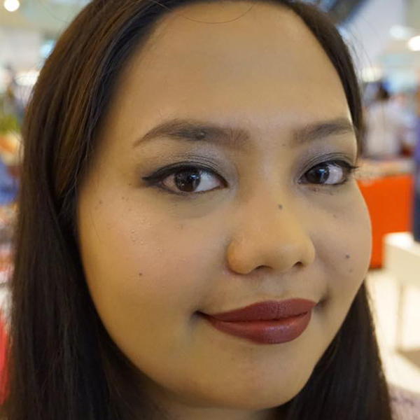 Gave free makeovers to Glamourbox customers who shopped at Landmark Trinoma - July 2016
